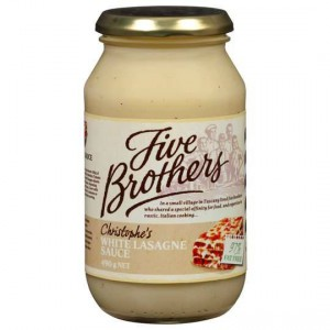 Five Brothers White Lasagne Sauce