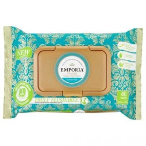 Emporia Flushable Clean Wipes Refill