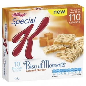 Kellogg's Special K Biscuit Moments Caramel