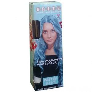 Brite Organix Semi Permanent Hair Colour Pastel Blue