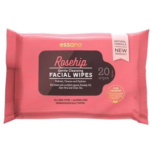 Rosehip By Essano Wipes
