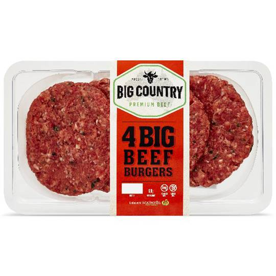 Big Country Beef Burgers