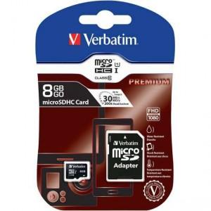 Verbatim Premium Tablet Micro Sdhc With Adaptor