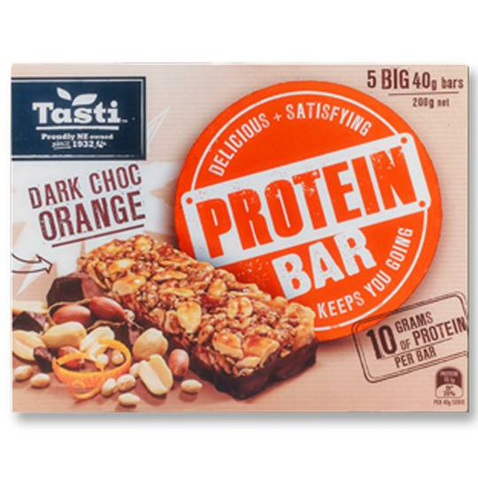Tasti Protein Bar Dark Choc Orange