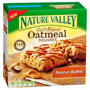 Nature Valley Bar Oatmeal & Peanut Butter