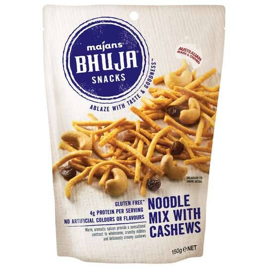 Mum2archer reviewed Majans Bhuja Mix Noodle & Cashew