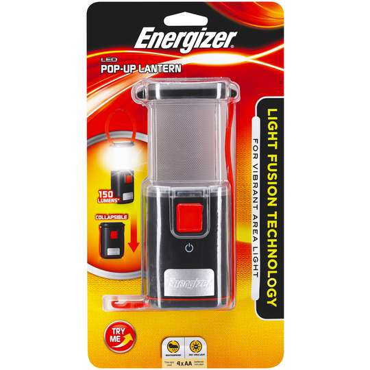 Energizer Led Pop-up Lantern Light Fusion Technology