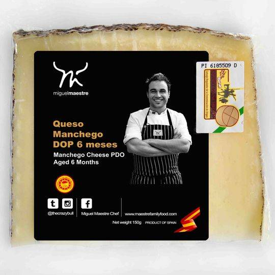 Miguel Maestre Manchego Cheese Aged 6 Months
