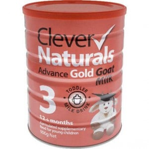 Clever Naturals Advance Gold Goat Milk Formula Stage 3 12+ Months