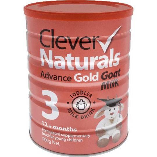 Clever Naturals Advance Gold Goat Milk Formula Stage 3 12+ Months