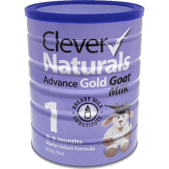 Clever Naturals Advance Gold Goat Milk Formula Stage 1 0-6 Months