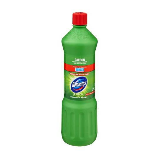 Domestos Bleach Toilet Cleaner Mountain Fresh Disinfectant