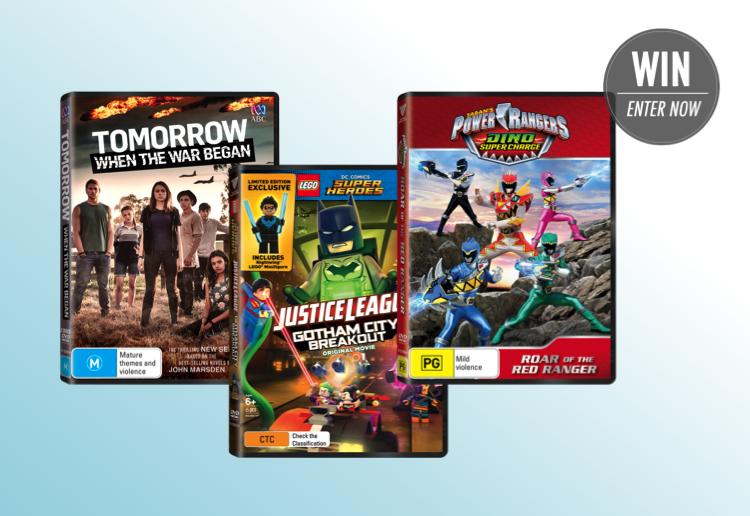 WIN 1 of 8 brilliant kids DVD packs thanks to Roadshow Entertainment!