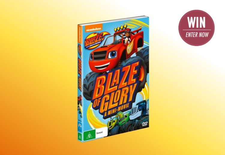 WIN 1 of 25 Blaze and the Monster Machines DVDs