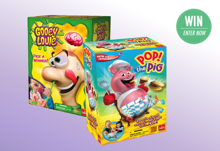 Pop! The Pig & Gooey Louie kids toy giveaway!