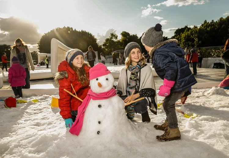 WIN 1 of 6 Family Passes to Snow Time in the Garden!