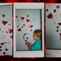 Framed heart keepsake photography