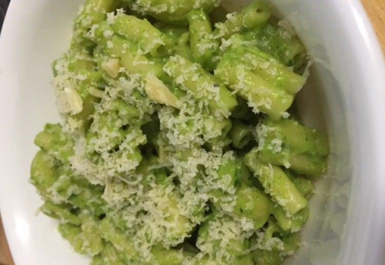Shrek pasta (creamy veggie pasta)