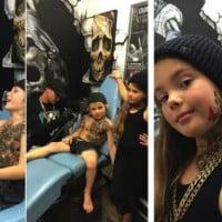 Meet the tattoo artist who tattoos children…