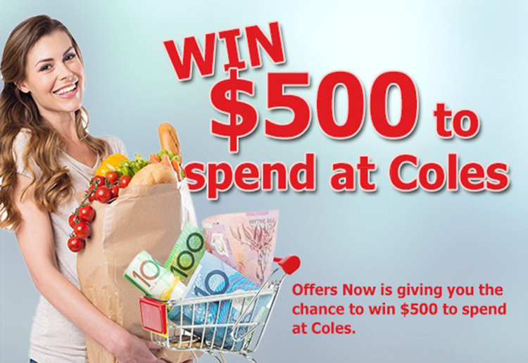 WIN $500 to spend at Coles!