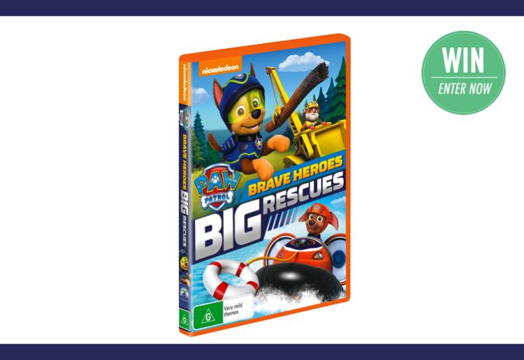 WIN 1 of 25 copies of PAW Patrol: Big Heroes Big Rescues!