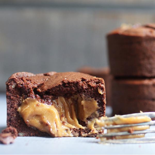 Caramel Explosion Brownies
