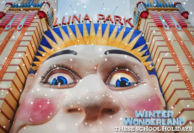 WIN 1 of 5 Family Passes for Luna Park's Sydney Winter Wonderland!
