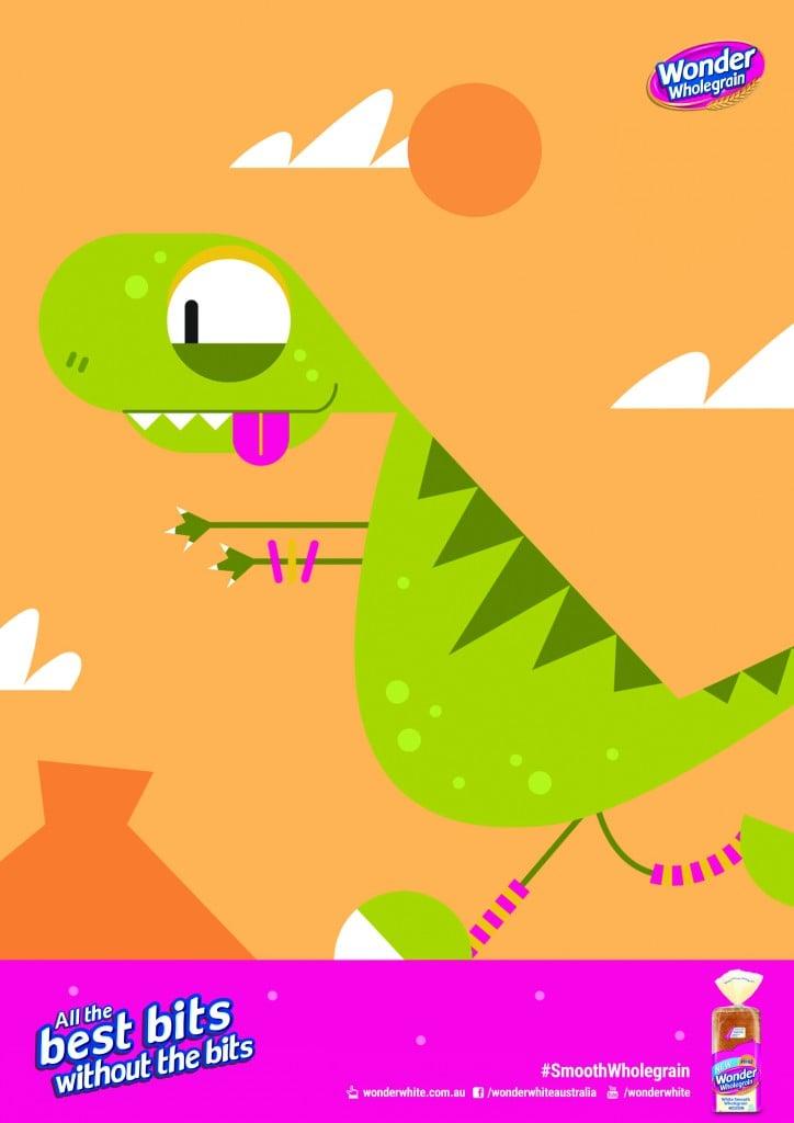 Wondersmooth_Where is my dinosaur_poster