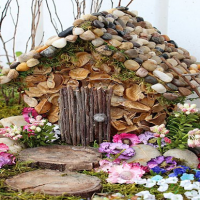 How to make a fairy house for the garden