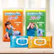 Mamia® Nappies & Wipes