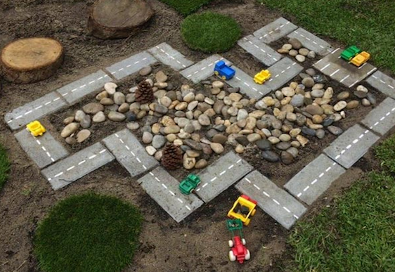 cherz reviewed How to build a car track for the kids in your garden