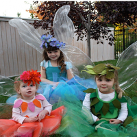 How to make no sew iridescent fairy wings