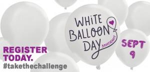white ballloon
