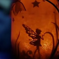How to make a fairy lantern in a  jar