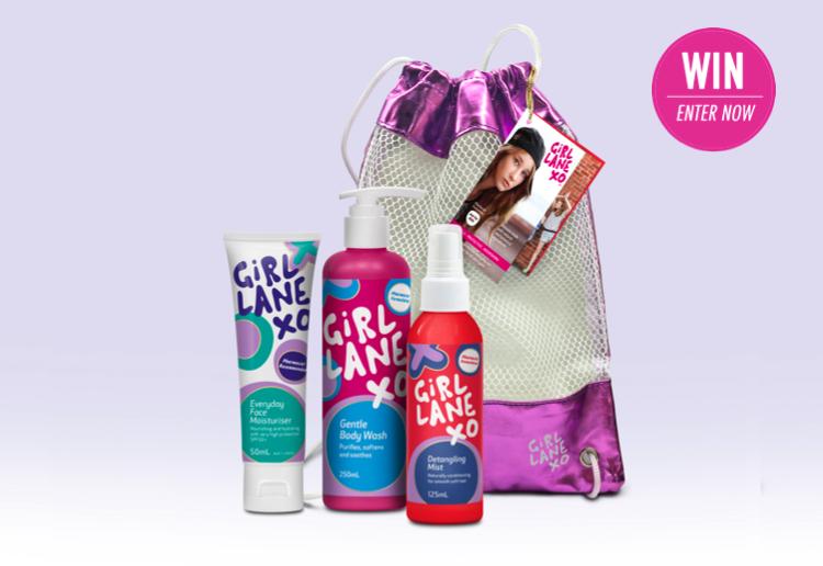 WIN 1 of 5 Girl Lane Tween Skincare Tote bags