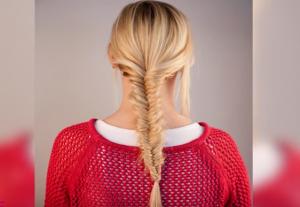 YT fishtail braid