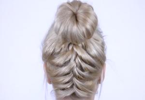 YT upside braid
