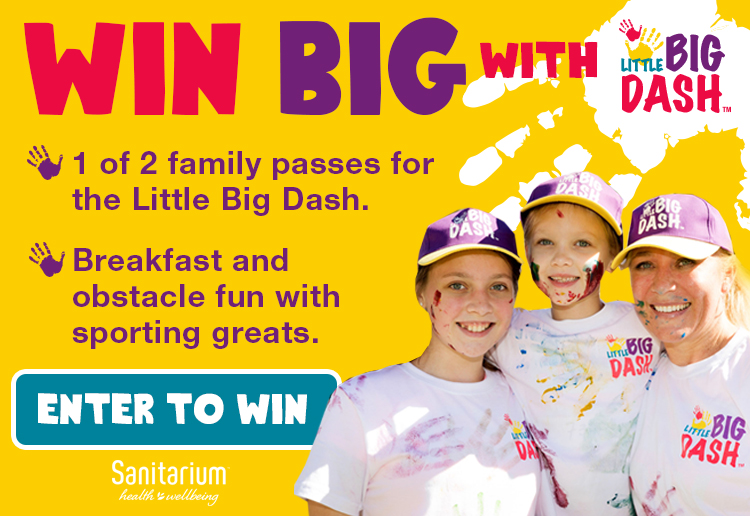WIN 1 of 2 family passes to the Little BIG DASH in Sydney!