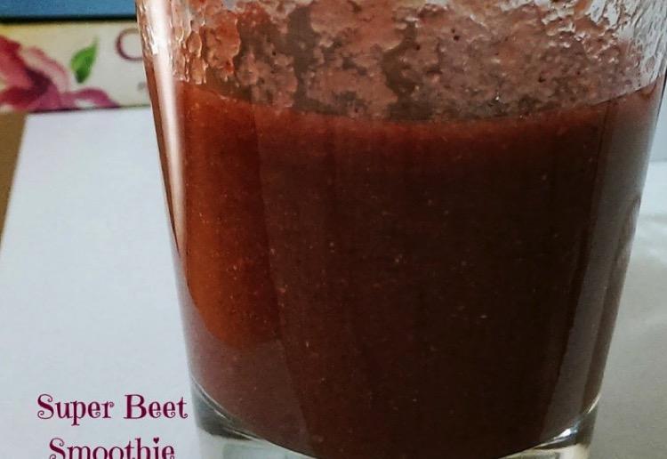 Super beet smoothie