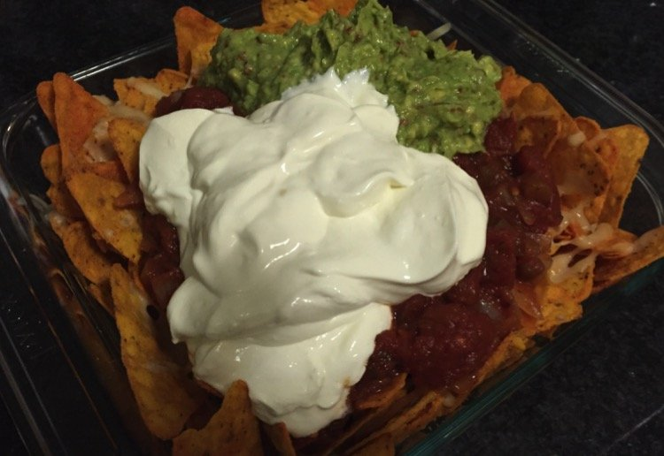 alison_humble reviewed Lactose-free beef nachos