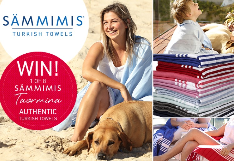 WIN 1 of 8 SAMMIMIS 375g Taormina Turkish cotton towels