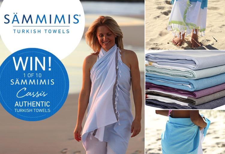 WIN 1 of 10 SAMMIMIS Cassis 325g Turkish cotton towels