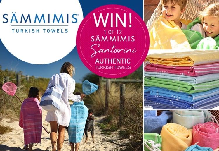 WIN 1 of 12 SAMMIMIS Santorini 275g Turkish cotton towels