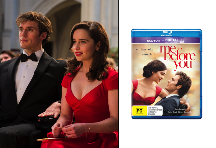 WIN a copy of Me Before You on Blu-Ray