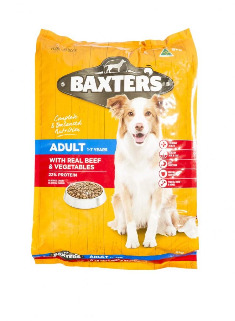 reviewed Baxter's dog food beef & veg 8kg