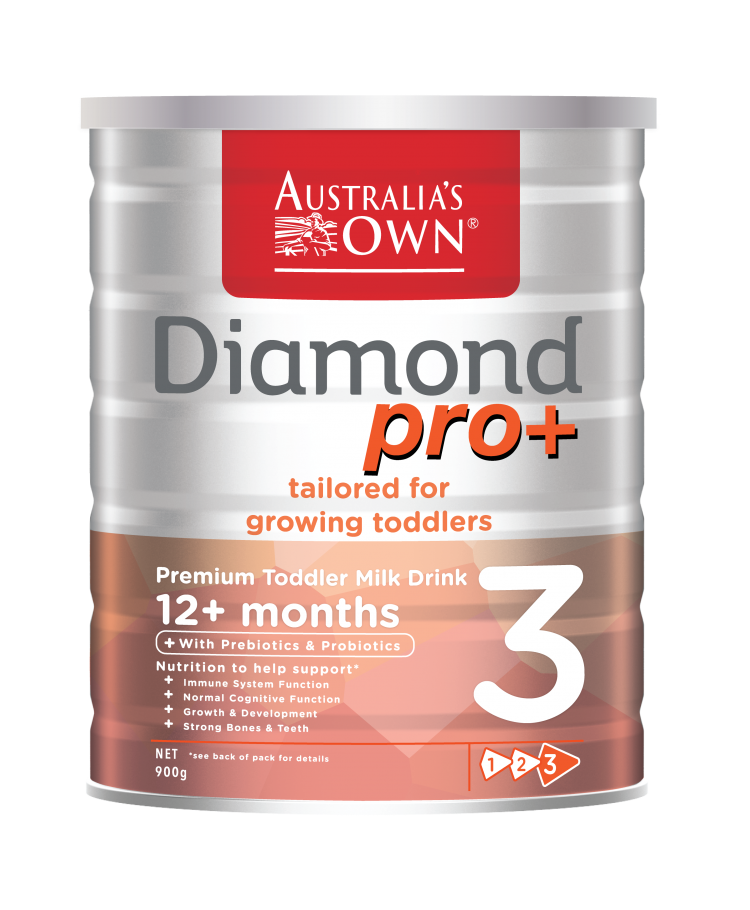 reviewed Australia's Own Diamond pro+ Premium Toddler Milk Drink Stage 3
