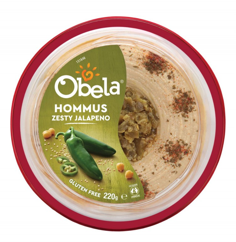reviewed Obela Zesty Jalapeño Hummus 220g