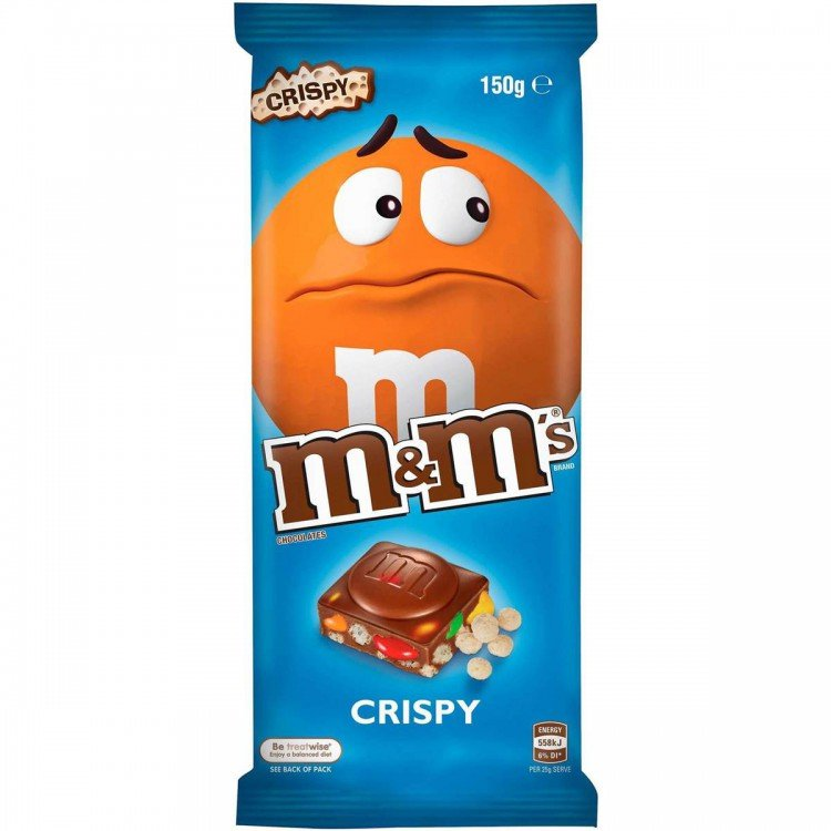 mom385887 reviewed M&M Crispy Chocolate Bar
