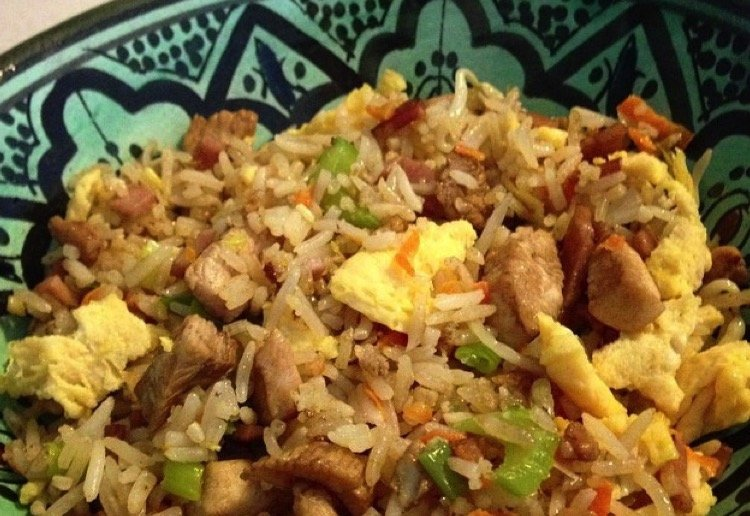 """Fussy child"" friendly fried rice"
