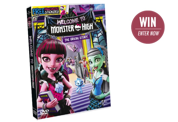 WIN 1 of 20 Welcome to Monster High DVDS